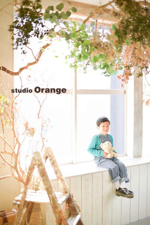 奈良店 フォトスタジオ 写真館 ドレス スーツ 洋装 私服 バースデー 誕生日 1人写し