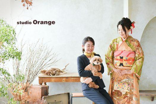 奈良店 フォトスタジオ 写真館 成人式 和装 洋装 振袖 ドレス 姉妹写し ペット