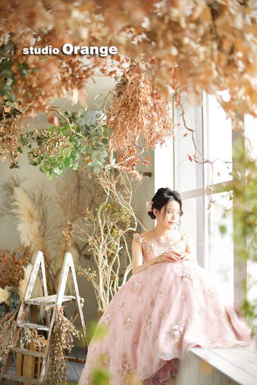 奈良店 フォトスタジオ 写真館 成人式 和装 洋装 振袖 ドレス 1人写し
