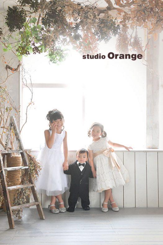 奈良店 フォトスタジオ 写真館 バースデー 誕生日 スーツ ドレス 私服 裸 兄弟写し