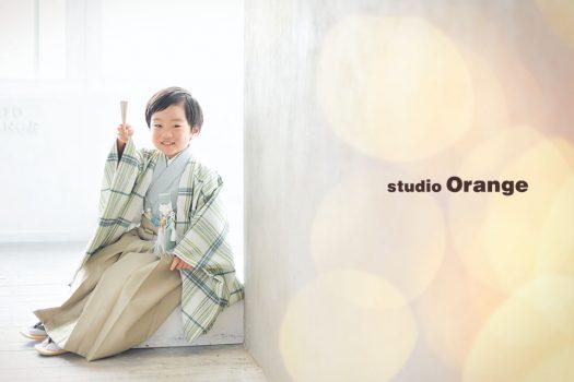 奈良店 フォトスタジオ 写真館 七五三 和装 着物 被布 帯 袴 1人写し