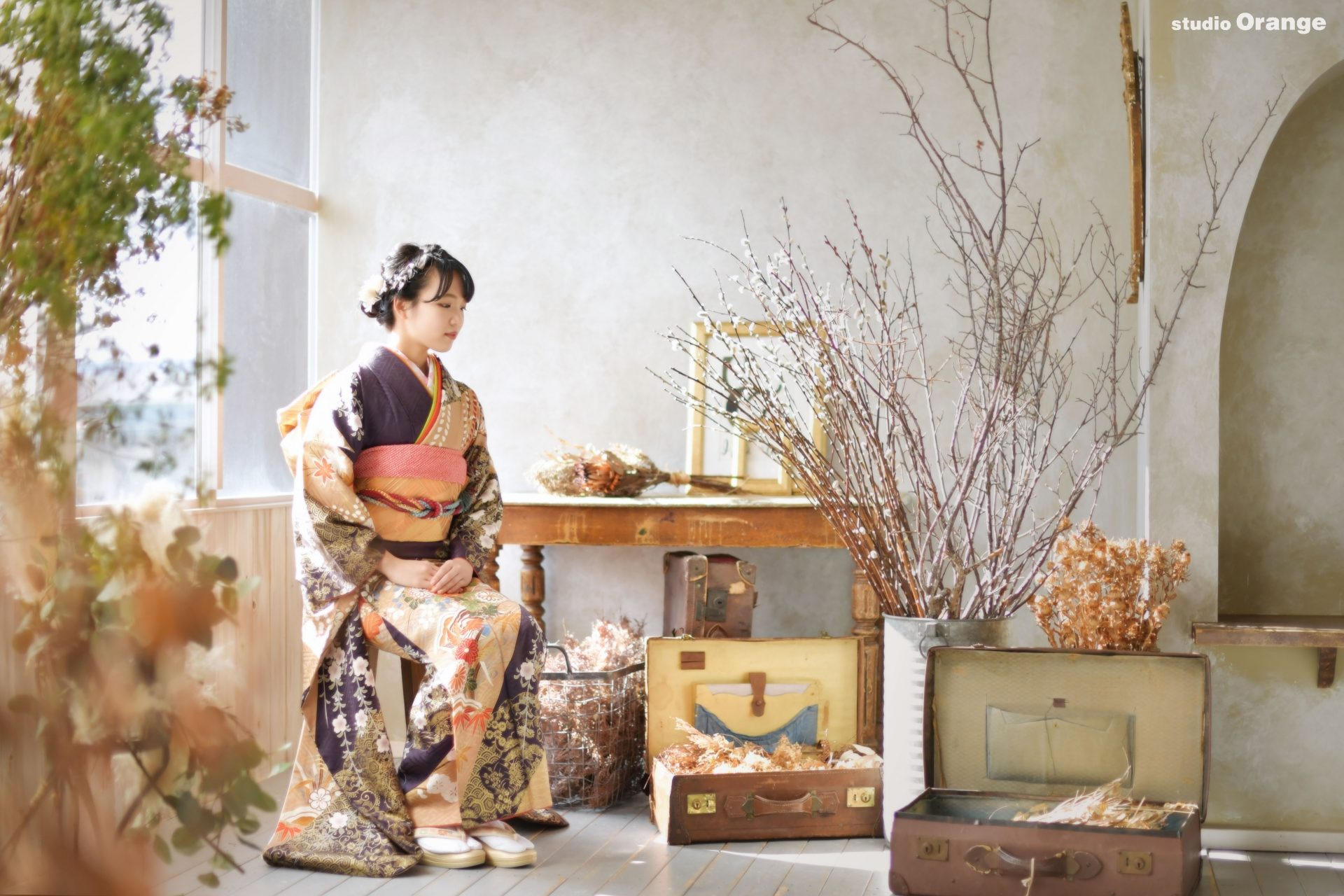 奈良県生駒市 ママ振 2021年成人式前撮り 19歳