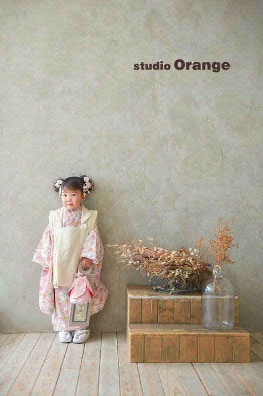 奈良店 フォトスタジオ 写真館 七五三 ドレス 着物 袴 被布 洋装 ドレス スーツ 1人写し