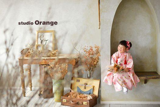 奈良店 フォトスタジオ 写真館 七五三 和装 着物 1人写し 袴 被布