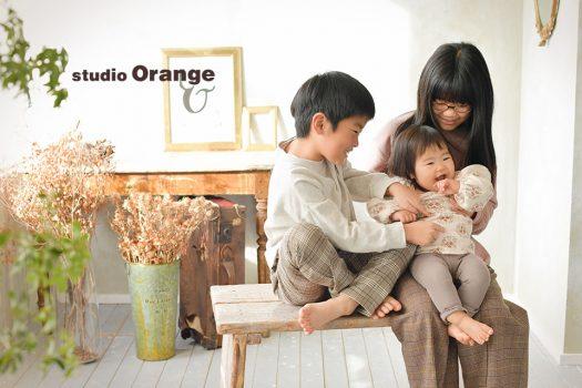 奈良店 フォトスタジオ 写真館 バースデー 誕生日 ドレス スーツ 洋服 私服 兄妹写し