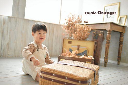 奈良店 フォトスタジオ 写真館 バースデー 誕生日 ドレス スーツ 洋服 私服 1人写し
