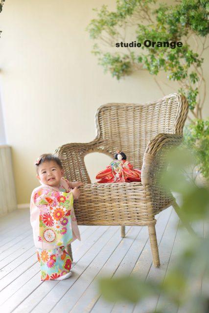 奈良市 写真館 フォトスタジオ 初節句 桃の節句 ひな祭り
