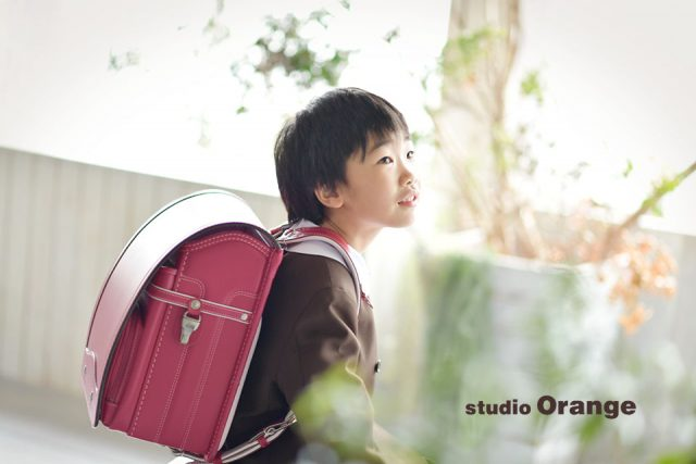 奈良市 入学 卒園 赤いランドセル