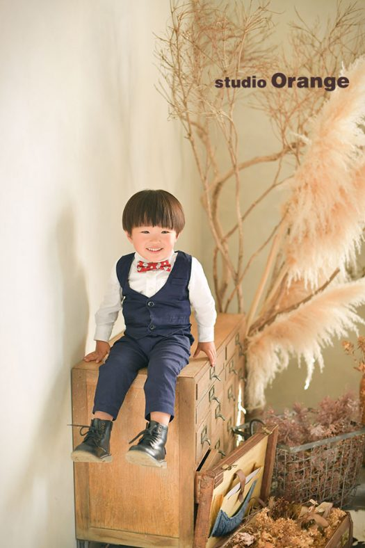 フォトスタジオ 写真館 バースデー お誕生日 洋装 スーツ ドレス 私服 1人写し 奈良市 学園前 生駒 大和郡山市 精華町 木津川市