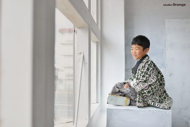 七五三 5歳男の子 男児袴 春日大社 お参り 生駒大社 帯解寺