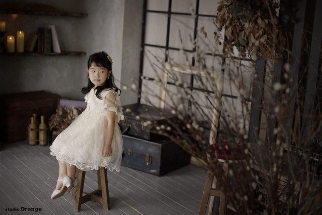 洋装 ドレス 女の子 7歳