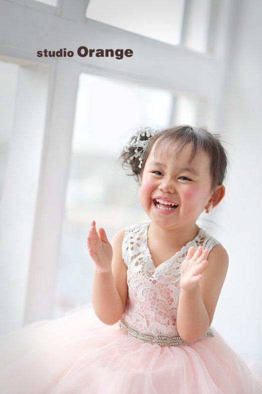 女の子 ドレス 奈良 写真館 ナチュラル アンティーク スタジオ