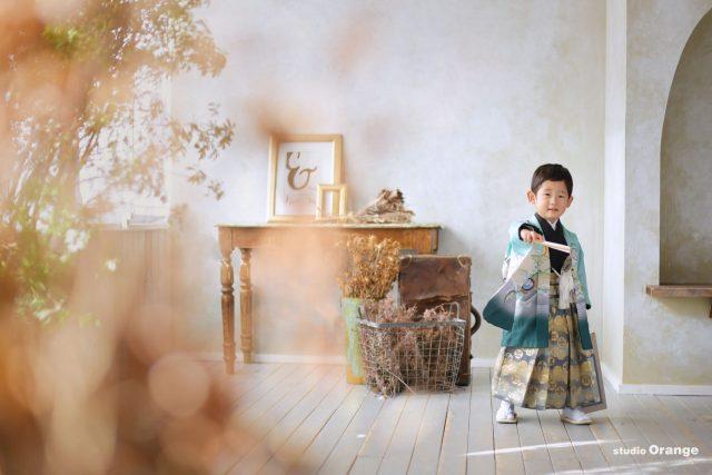 七五三 3歳男の子 着物 和装
