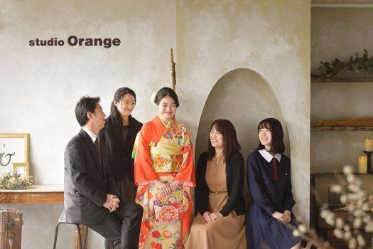 奈良店 フォトスタジオ 写真館 成人式 振袖 家族写し