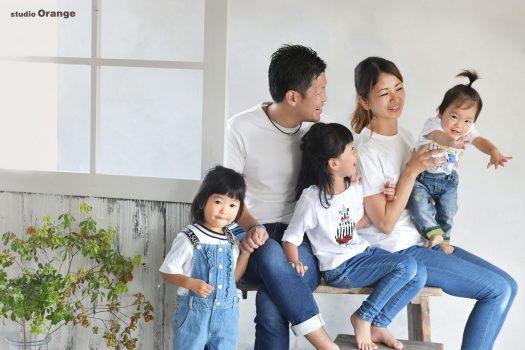 スタジオオレンジ 奈良県写真館 奈良市写真館 家族写真 お誕生日 バースデー