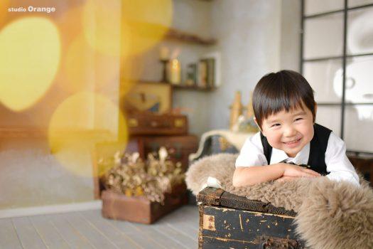 お誕生日撮影 バースデー撮影 お誕生日 姉妹撮影 家族撮影 洋装 キッズドレス 奈良県写真館 ハウススタジオ