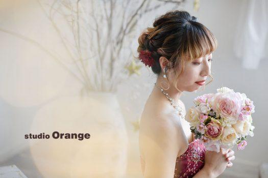 奈良店 フォトスタジオ 写真館 成人式 振袖 1人写し ドレス 洋装