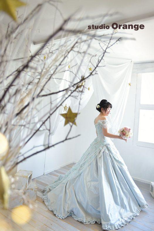 奈良店 フォトスタジオ 写真館 成人式 ドレス 洋装 1人写し