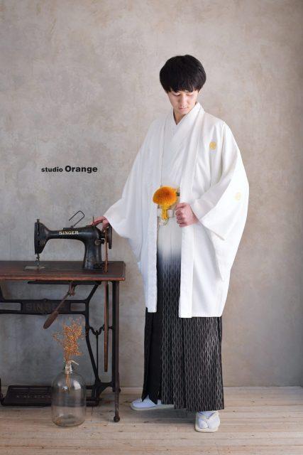 奈良市 男性成人 白い袴