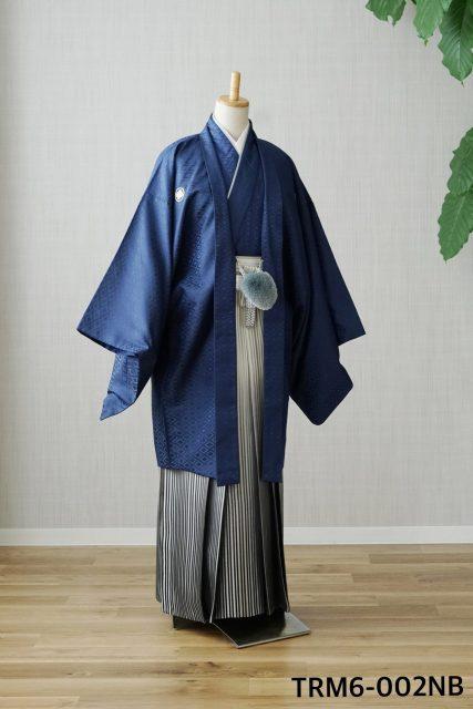 奈良市 成人袴 男性 青色の袴