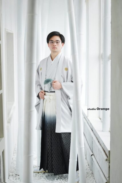 レンタル袴 成人袴 男性 奈良市
