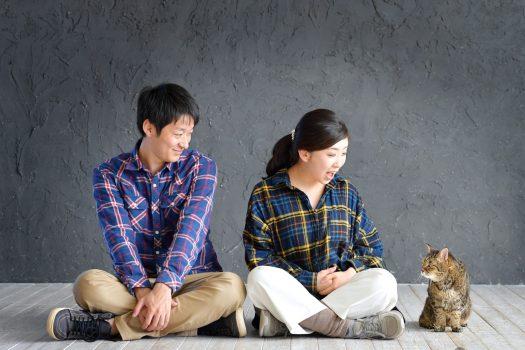 奈良市ペットフォト 家族写真 猫