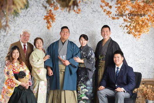 奈良市 レンタル袴 男性成人