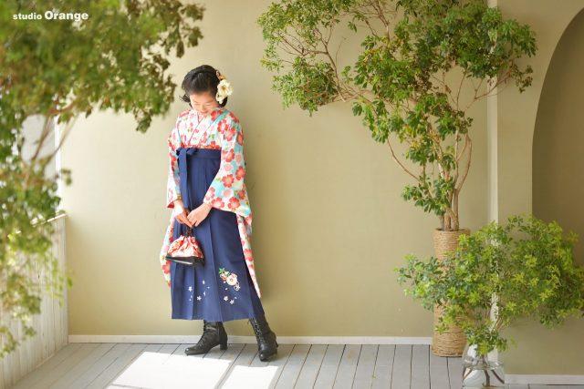 卒業袴 卒業式 奈良市写真館 卒業記念 小学校卒業 袴