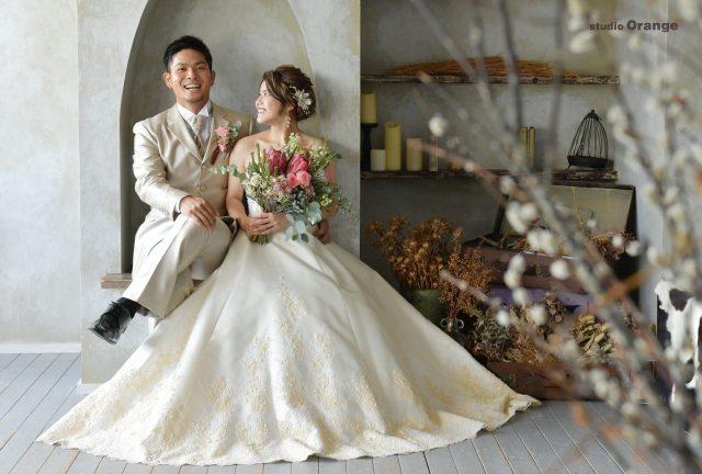ウエディング ウエディングフォト フォトウエディング 結婚式 奈良 写真館 打掛 白無垢 ウエディングドレス 奈良ウエディングフォト