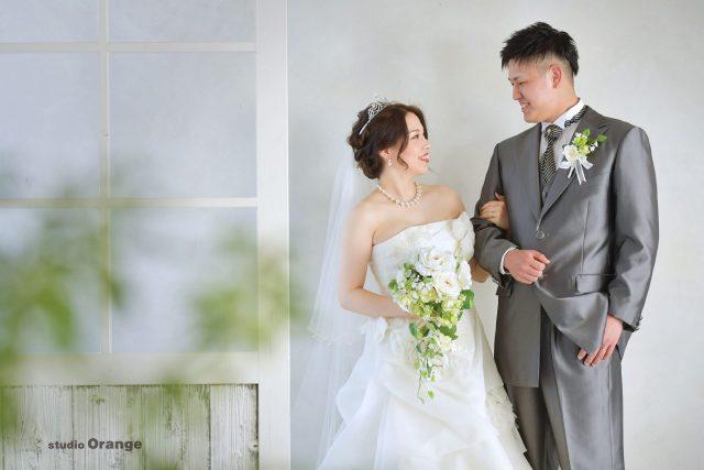 フォトウェディング 新郎新婦 白ドレス