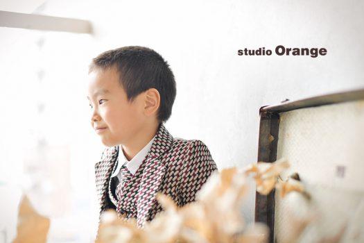 奈良フォトスタジオ 洋装 短髪の男の子