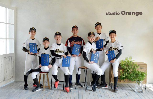 入学 卒業 野球 ユニフォーム フォトスタジオ 奈良市 写真館