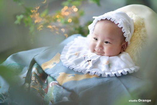 お宮参り 生駒神社・往馬大社にご祈祷 3ヶ月男の子