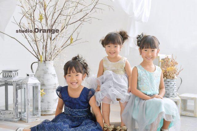 七五三 姉妹 奈良市 フォトスタジオ
