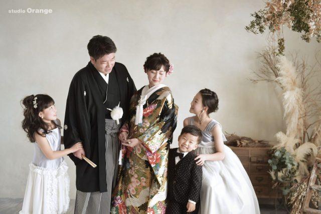 結婚10周年記念 家族撮影 フォトウェディング
