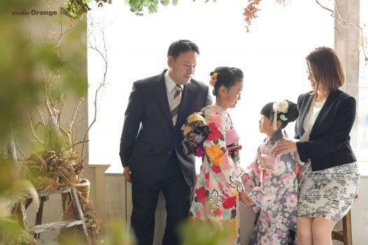 奈良写真館 奈良フォトスタジオ 七五三 家族撮影