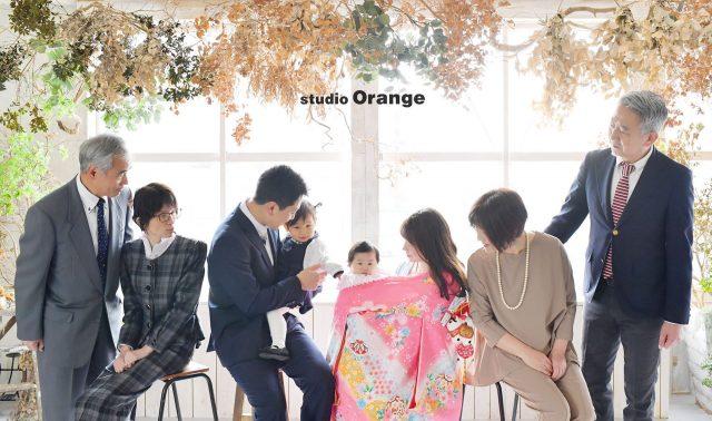 お宮参り 100日祝い フォトスタジオ 奈良市