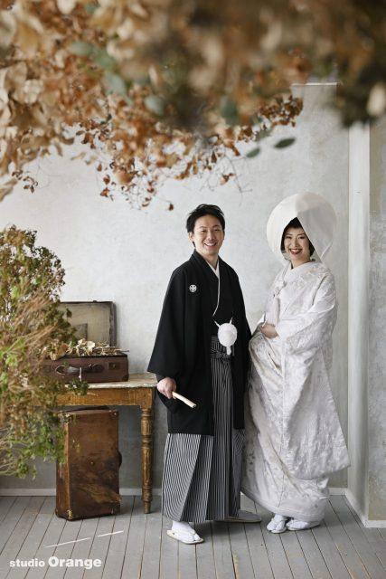 フォトウェディング 前撮り 綿帽子 白無垢 奈良市