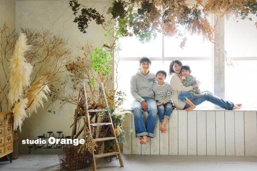 奈良 写真館 家族撮影 私服