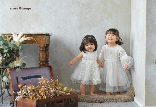 七五三 奈良写真館 3歳女の子 スタジオレンジ