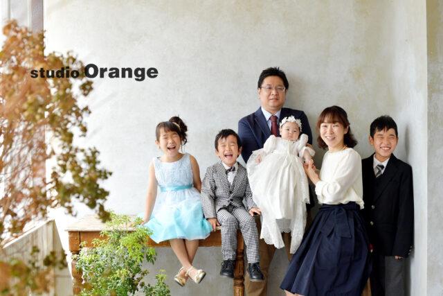 お宮参り 奈良 フォトスタジオ 家族写真