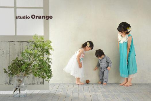奈良 写真館 バースデー 兄弟 ドレス 洋装