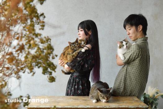 ペット撮影 猫 家族撮影