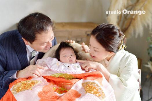 お宮参り 家族撮影 春日大社