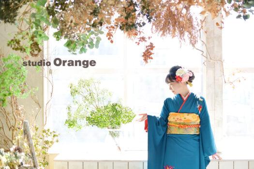 成人式前撮り 和装 奈良市
