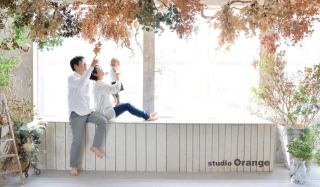 家族撮影 お誕生日撮影 バースデーフォト