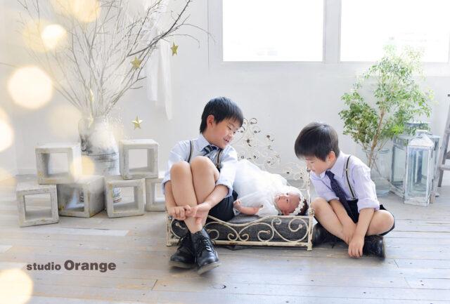 お宮参り 兄弟撮影 春日大社