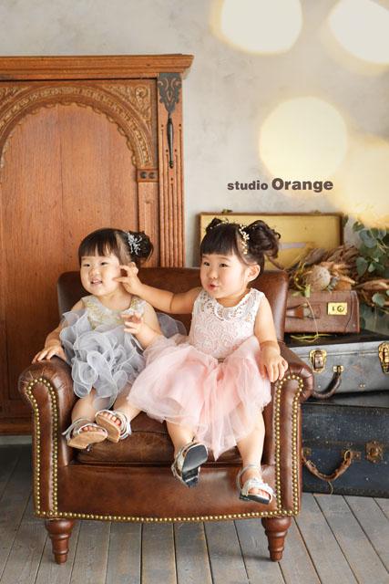 ドレス 753 七五三 奈良市 フォトスタジオ 写真館