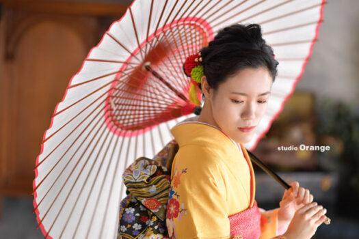 奈良市 成人式 奈良写真館 二十歳撮影