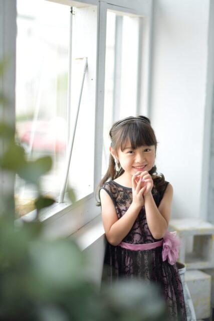 奈良市 フォトスタジオ 写真館 ドレス撮影